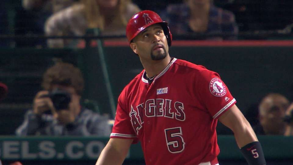Angels' first-base situation