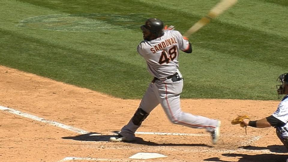 Sandoval hits two homers in 4th