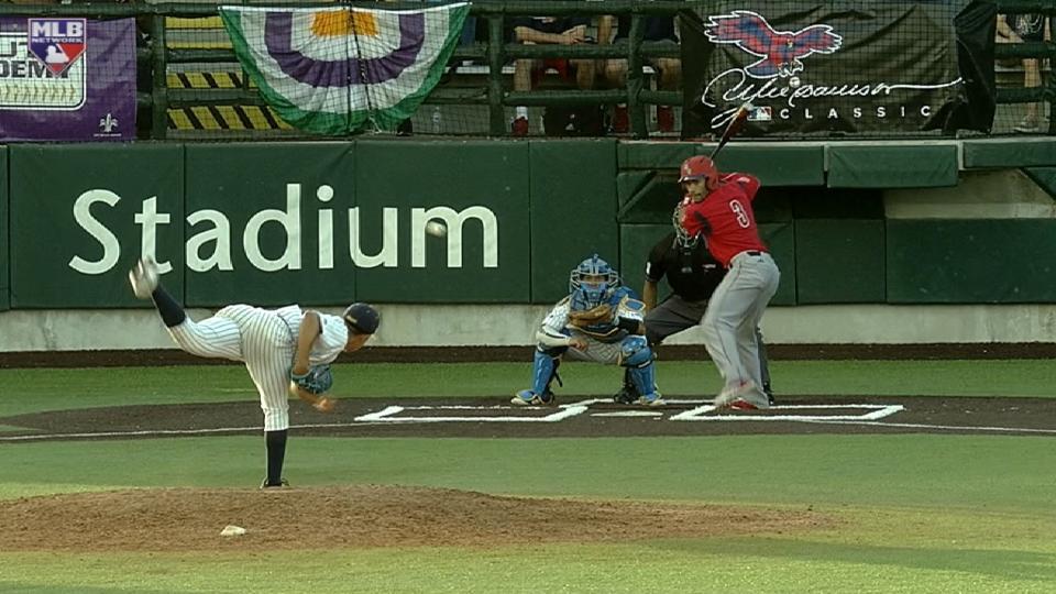 David Becker's two-run homer
