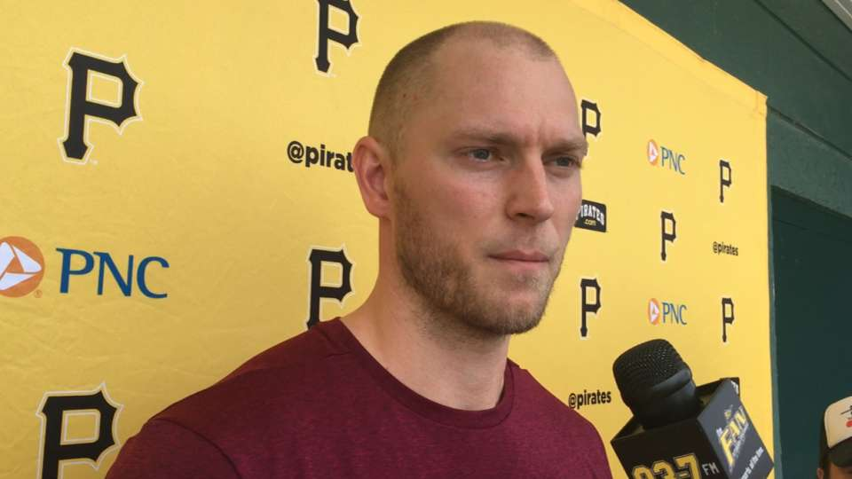 Saunders on being in Bucs camp