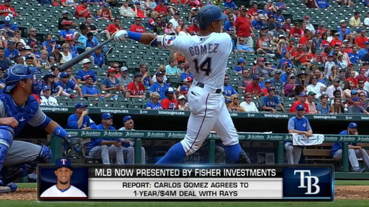 Carlos Gomez Has to Be Kicking Himself for Signing Milwaukee Brewers\'  Contract Before 2013
