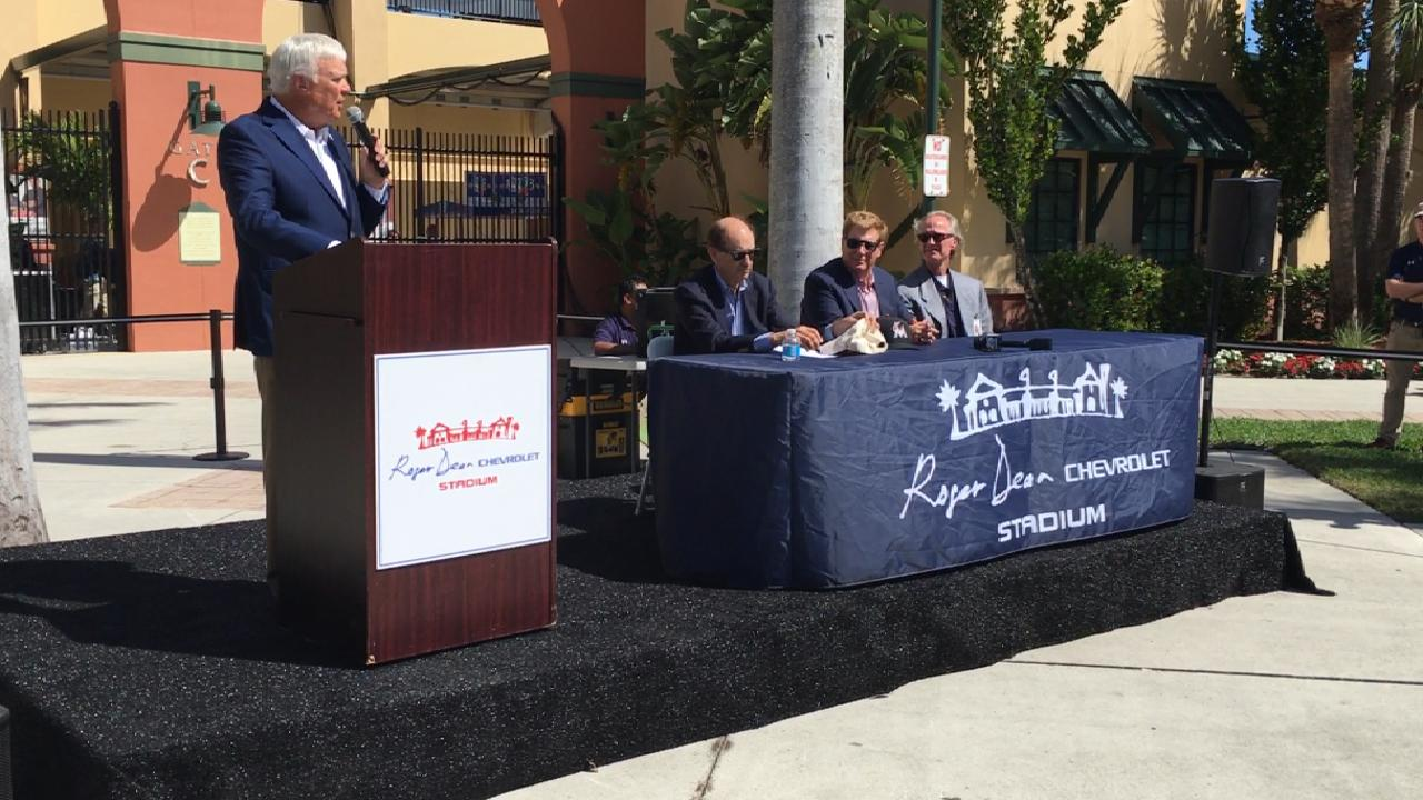 Roger Dean Stadium Gets New Name In Deal Mlb