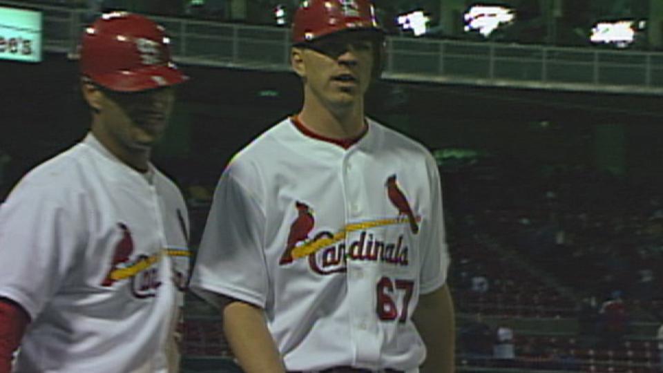 Stechschulte's first home run