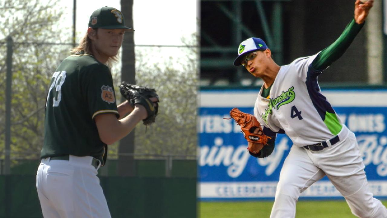 A's Top 30 Prospects list bolstered by shrewd deals