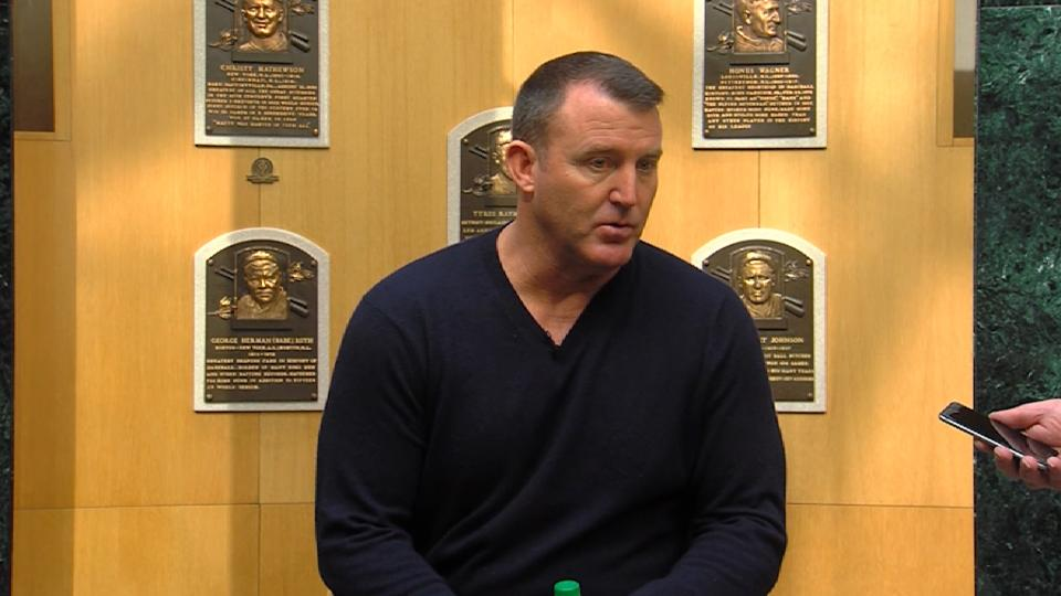 Thome visits Cooperstown
