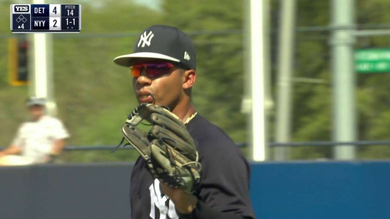 5c4f7b9964d Yankees  Torres headlines latest roster cuts