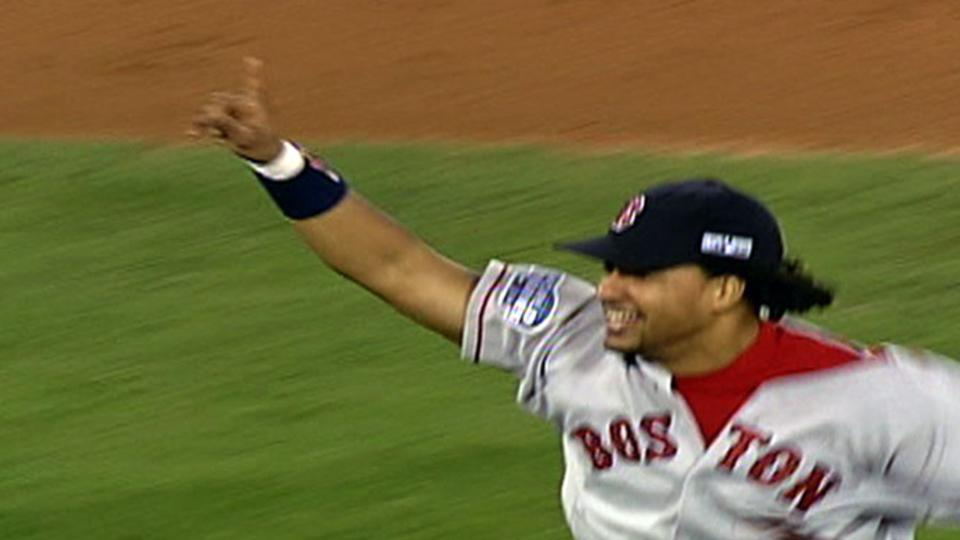Red Sox break the curse