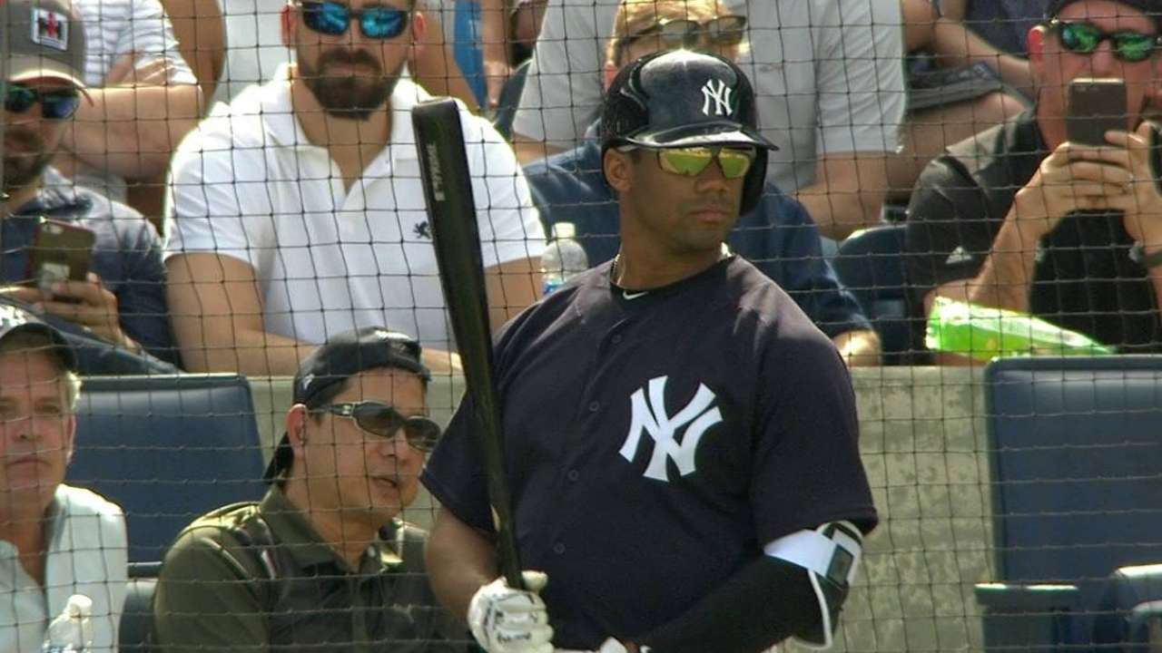 29cd0194a00b8 Russell Wilson to Attend Yankees Spring Training for 2nd Year in a ...