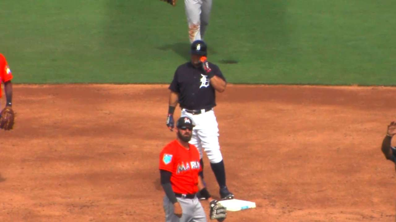 Cabrera's two-run double