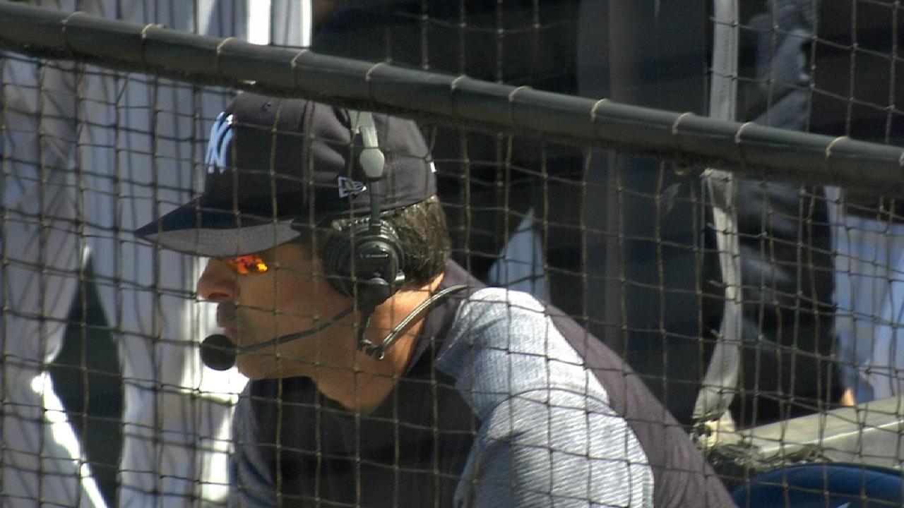 Giancarlo Stanton makes debut in left field | MLB.com