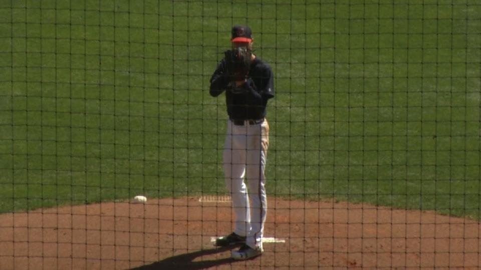 Folty on his second spring start