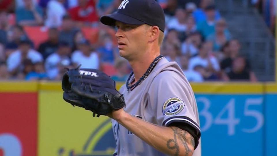 Burnett hurls immaculate inning