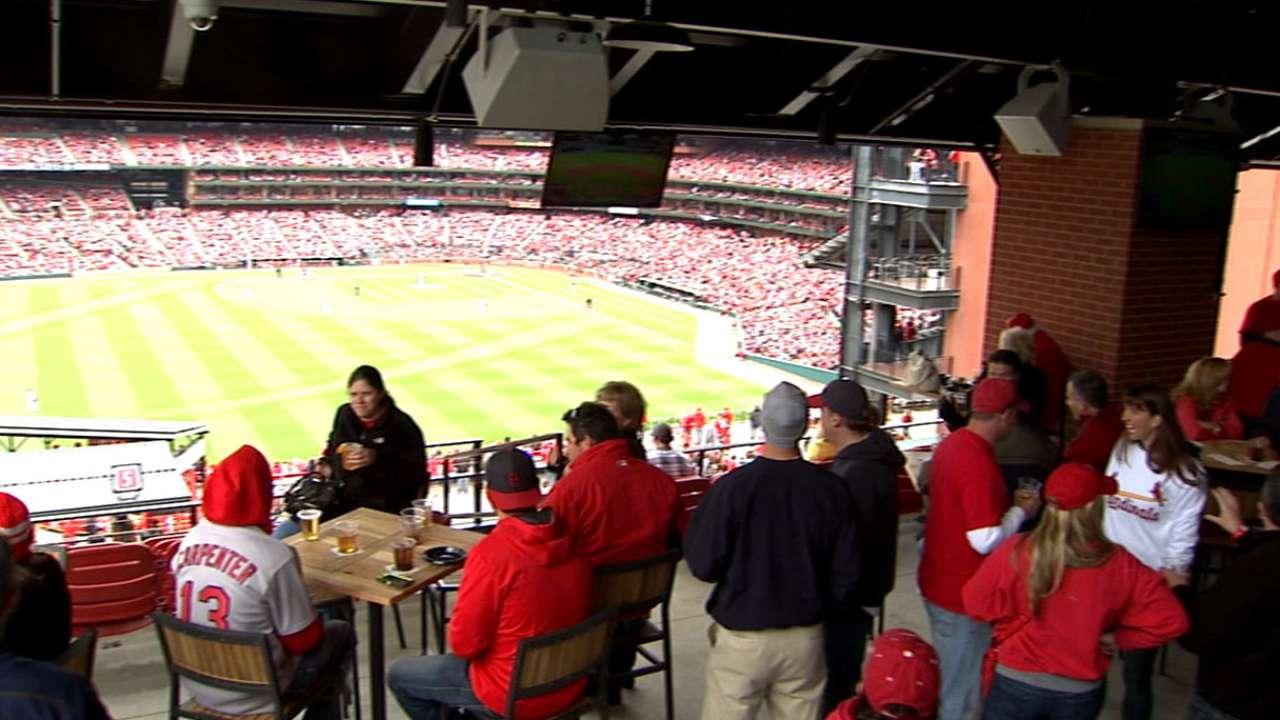 Cardinals Nation Rooftop St Louis Cardinals
