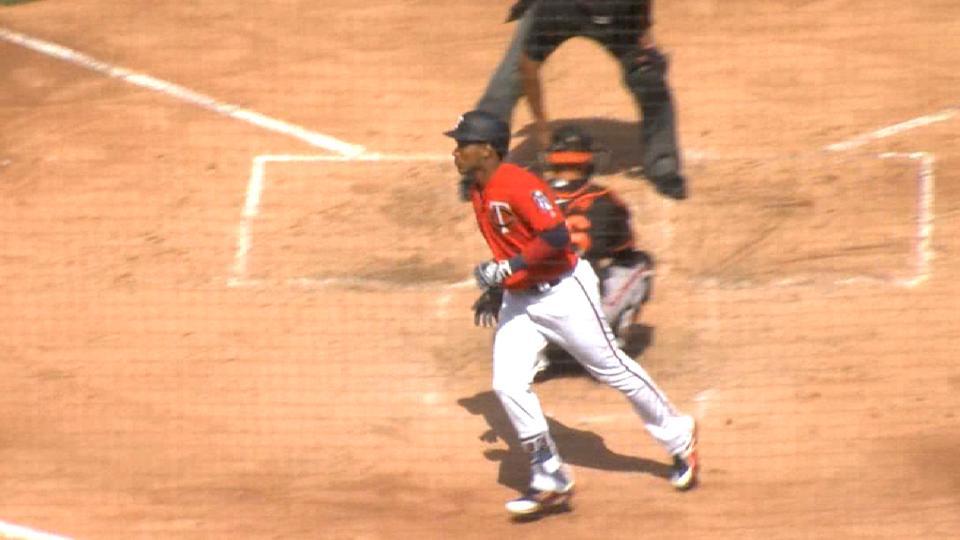 Polanco solo home run