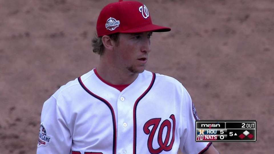 Fedde's 5th-inning strikeout