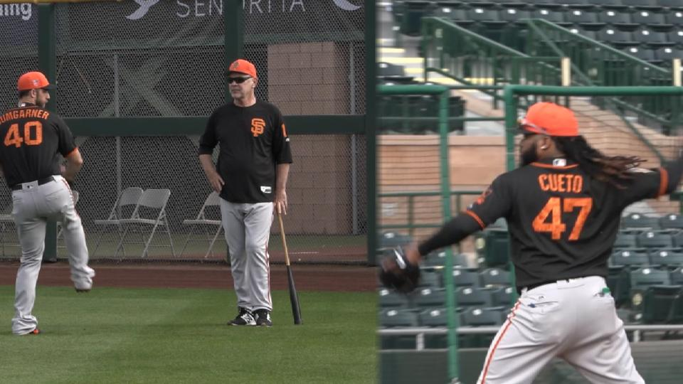 Giants look to pitching in 2018