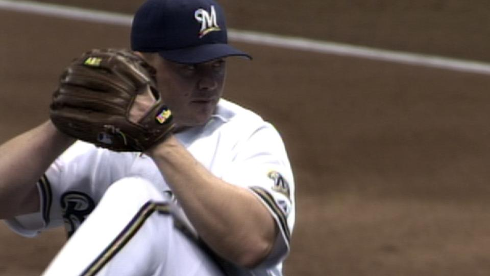 Helling throws immaculate inning