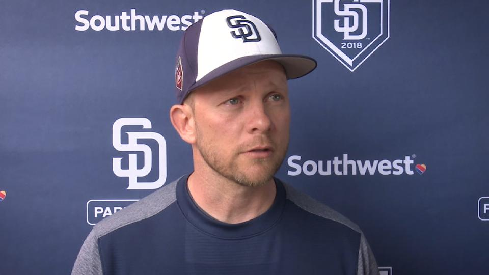 Andy Green on the Padres' speed