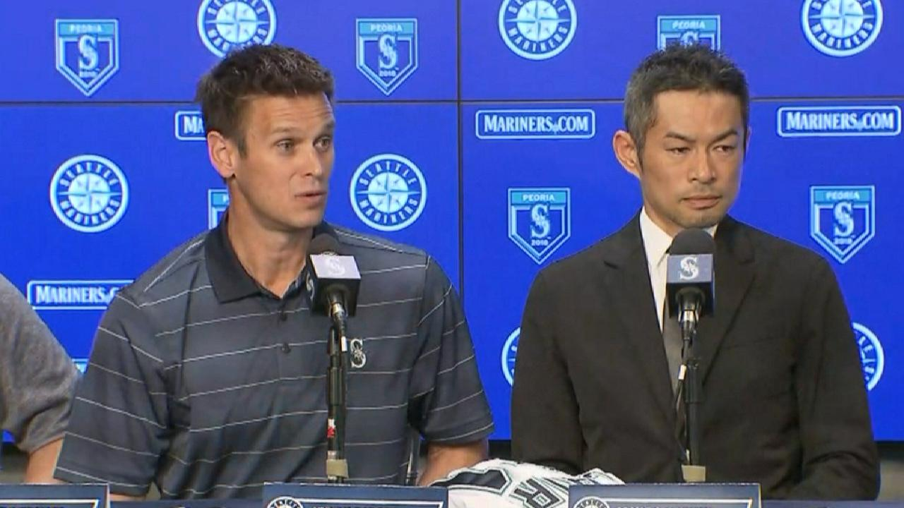 Ichiro Suzuki rejoins Mariners on 1-year deal | Seattle Mariners