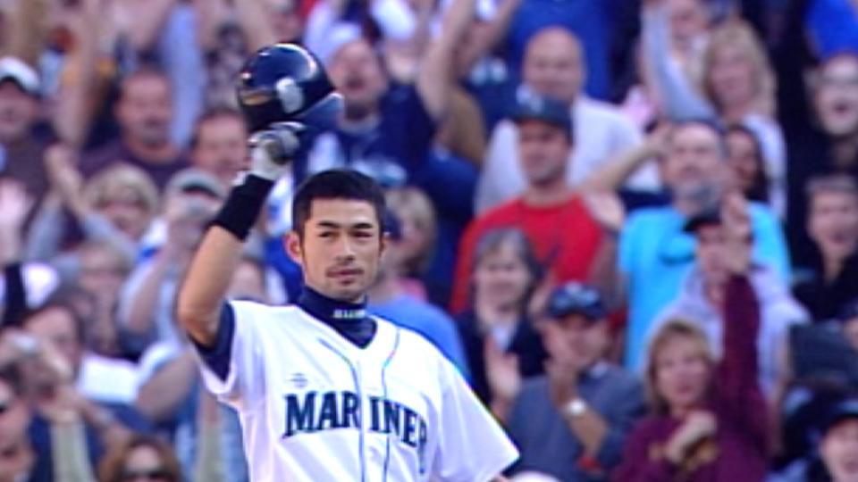 Ichiro on city of Seattle