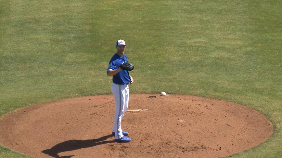 Happ on smooth start vs. Bucs