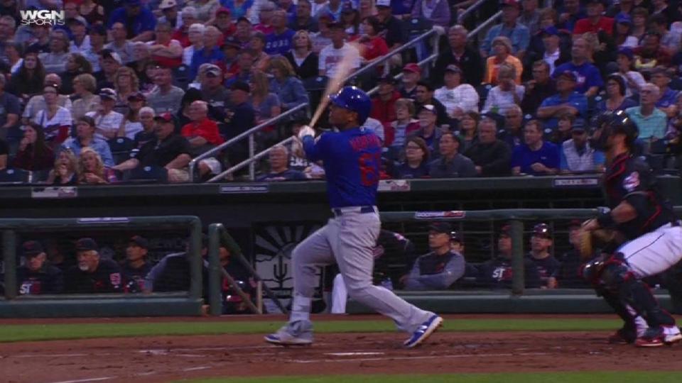 Navarro's two-run smash