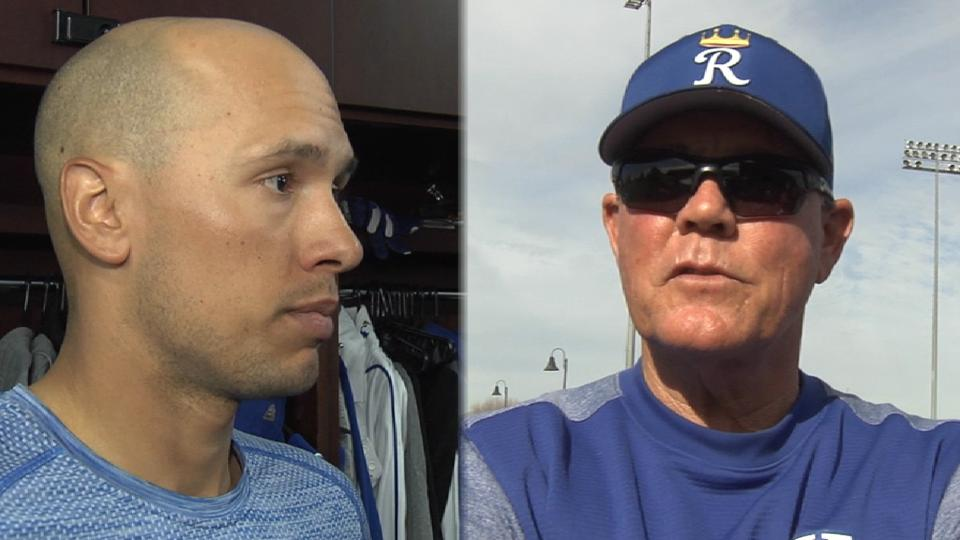 Goins, Yost on Goins joining KC