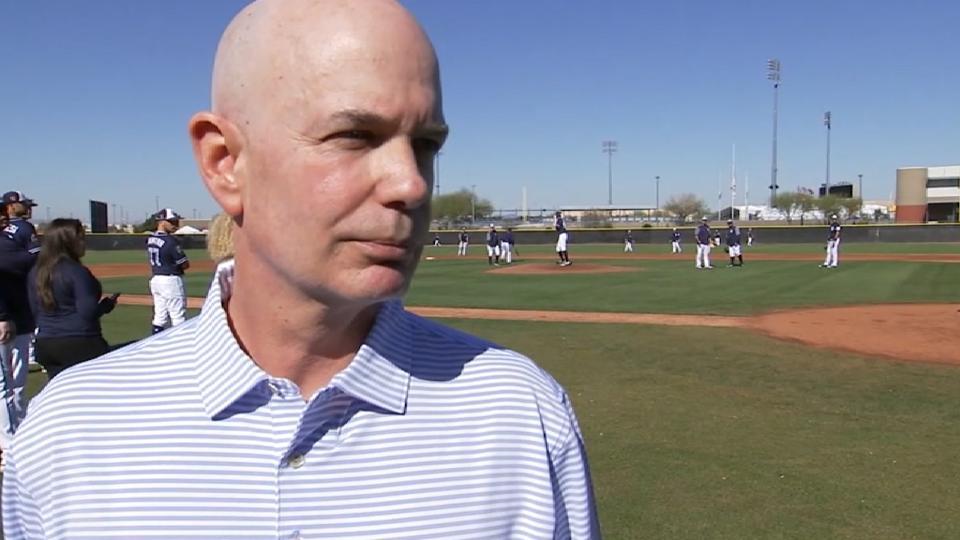 Uhlman Jr. on Padres' prospects