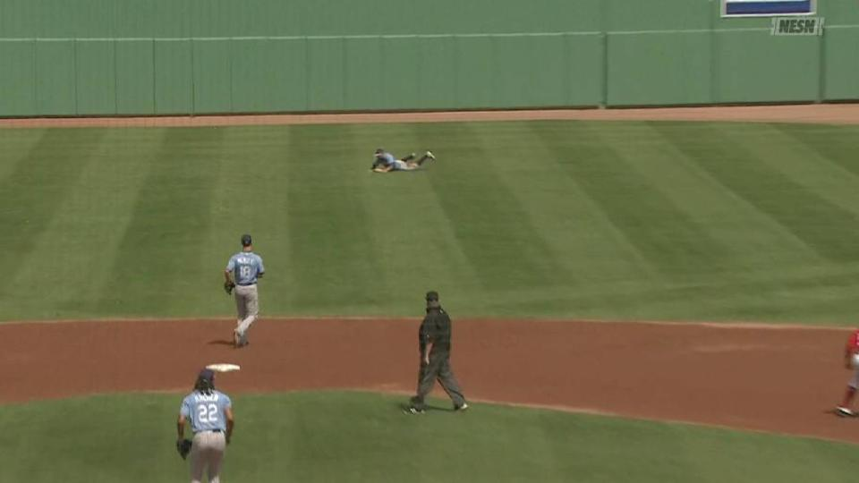 Field's diving catch