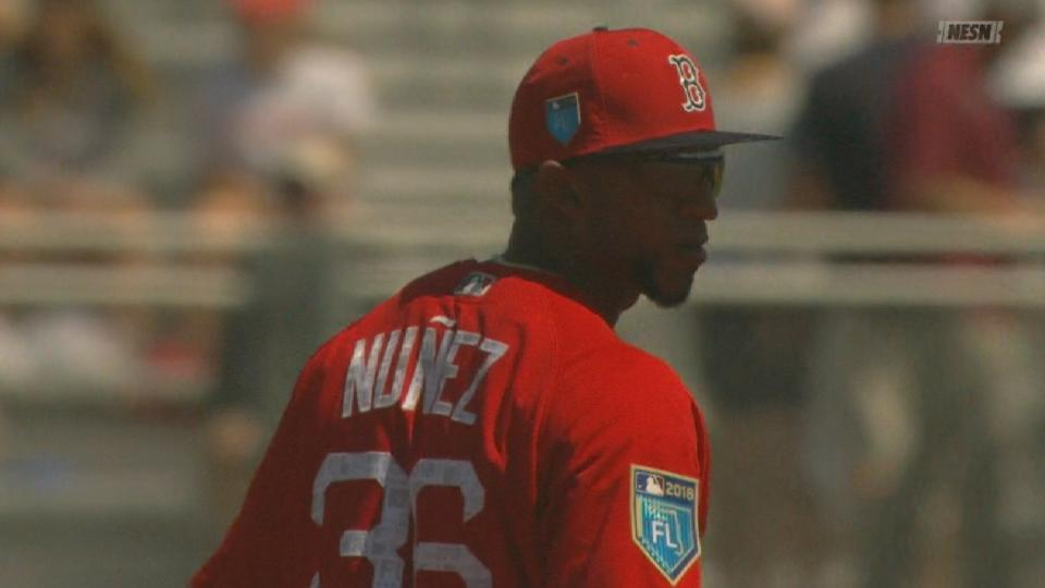 Nunez makes spring debut