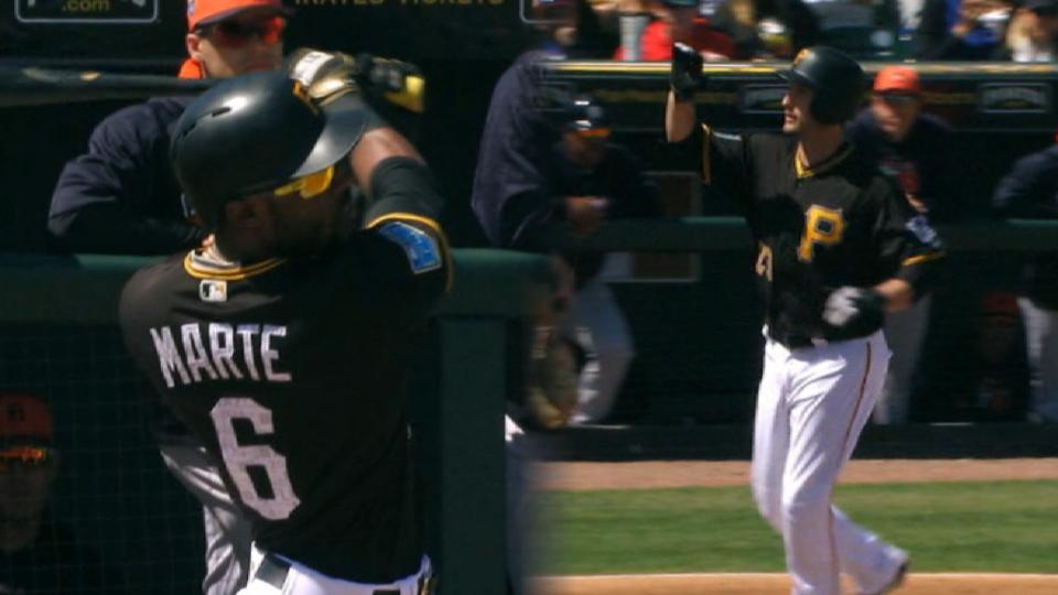 Marte, Freese homer in the 1st