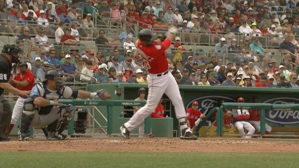 Martinez's first three hits