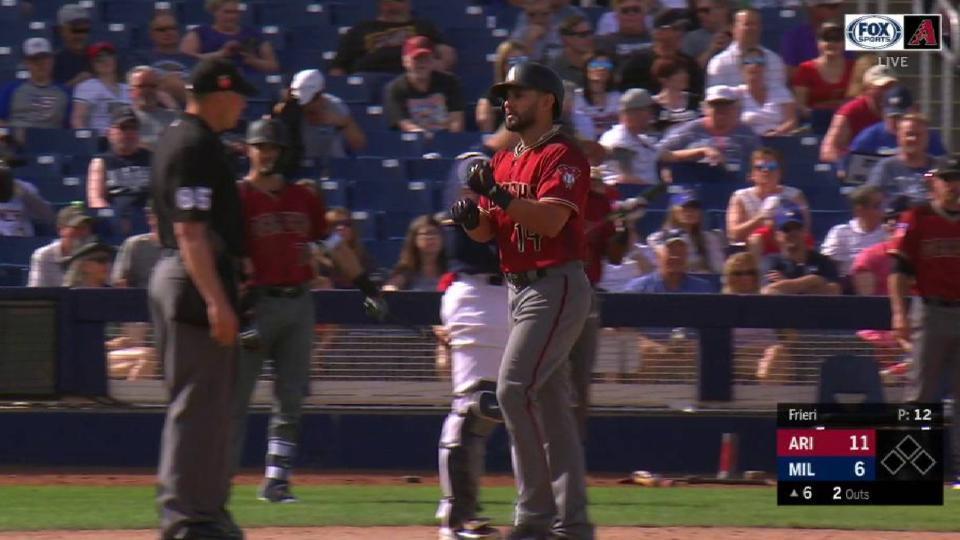Fuentes' three-run home run