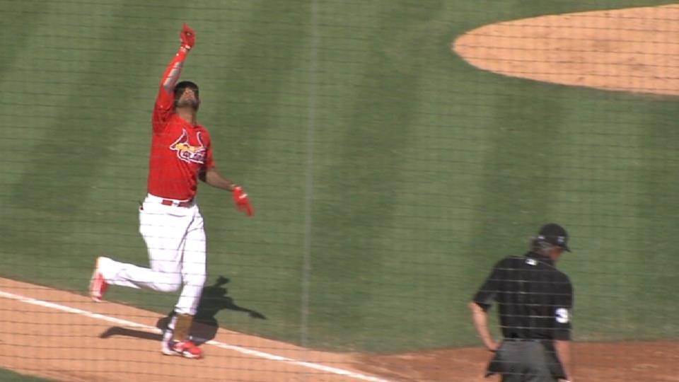 J. Martinez's solo homer