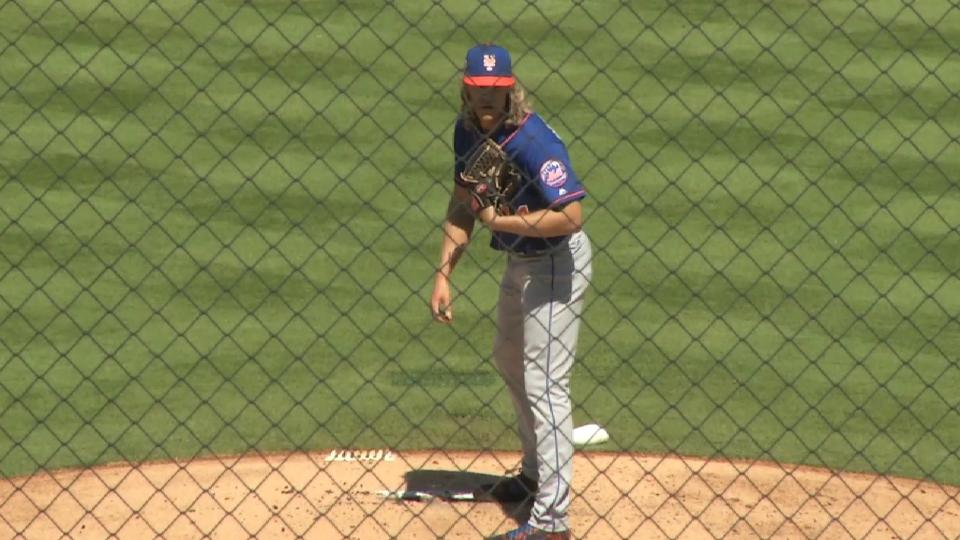 Thor strikes out seven straight