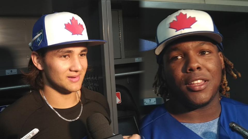 Prospects debut for Blue Jays