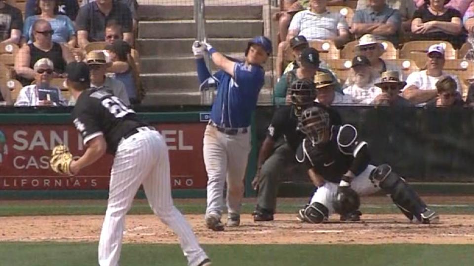 Asche's three-run home run