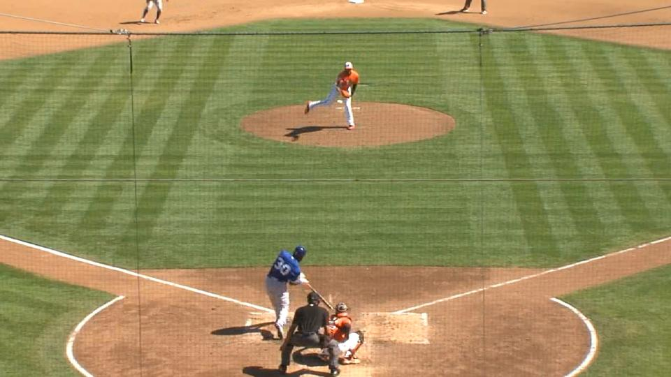 Alford's RBI double