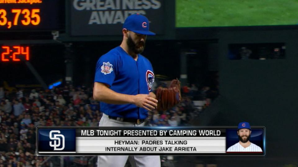 Padres have interest in Arrieta?