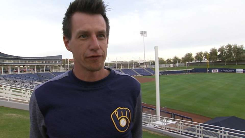 Counsell excited about Brewers