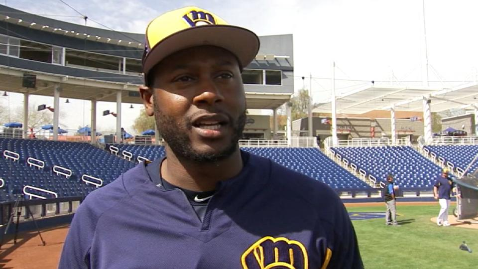 Cain feels good with Brewers