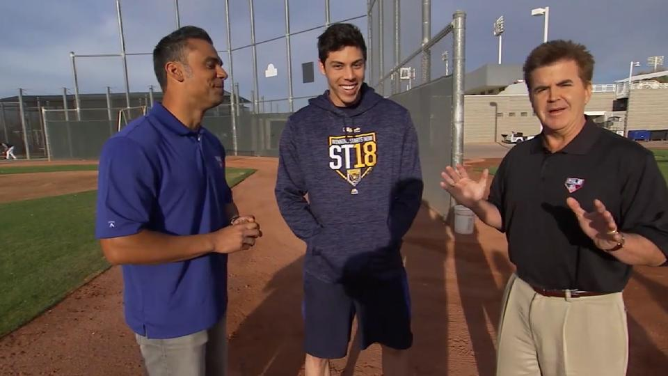 Yelich on becoming a Brewer
