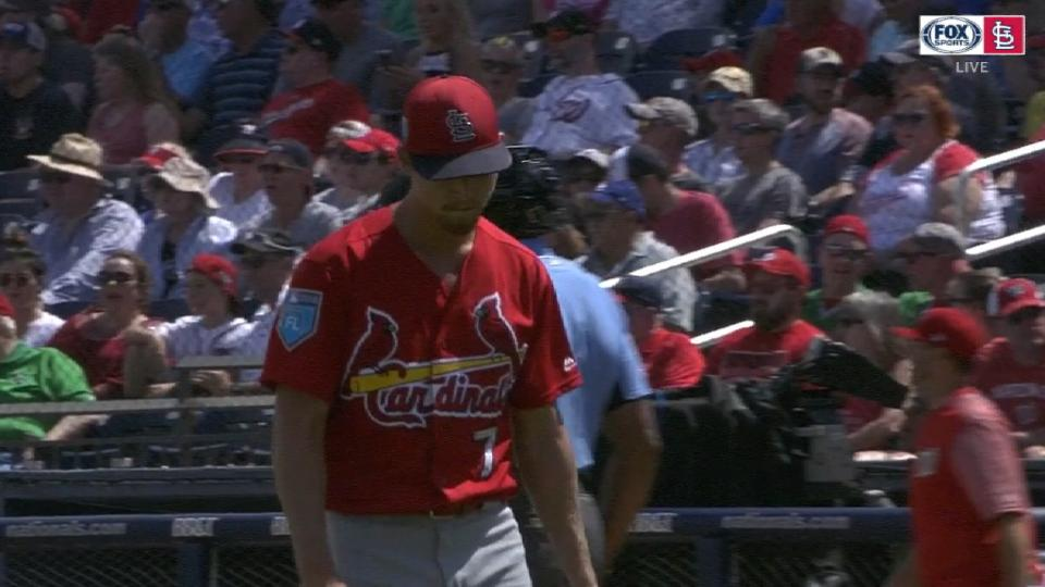 Weaver's dominant outing