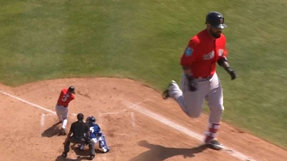 Leon's two-homer day