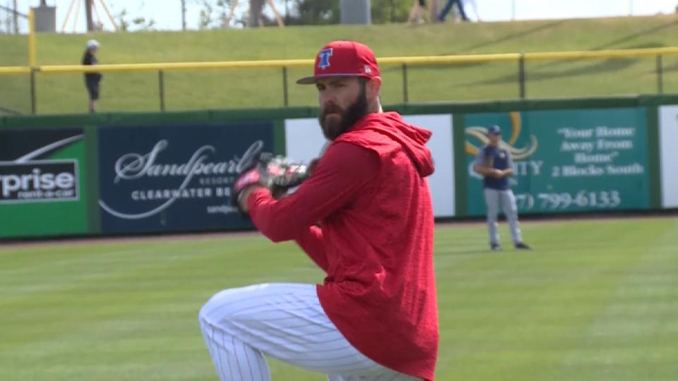 Arrieta on hunger to win