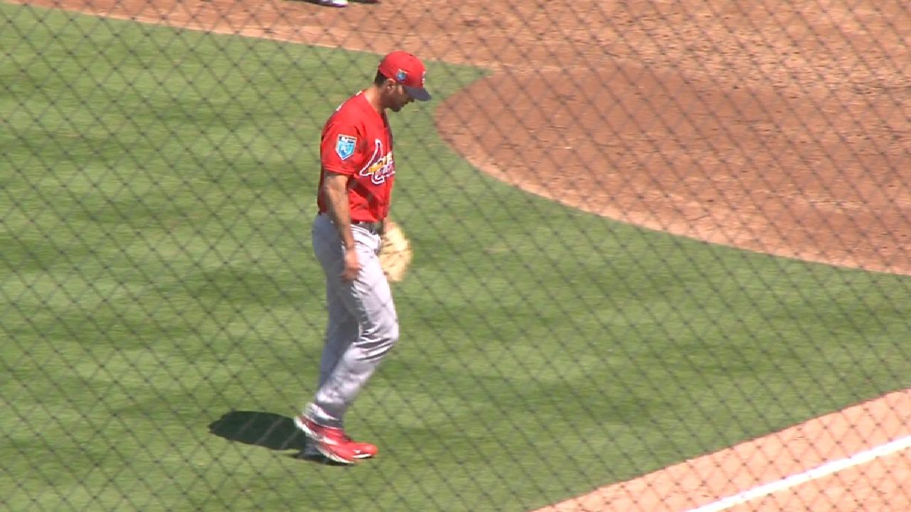 Wainwright Strikes Out Three