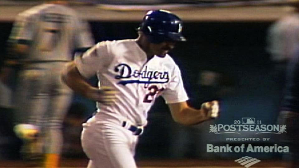 Gibson's pinch-hit home run