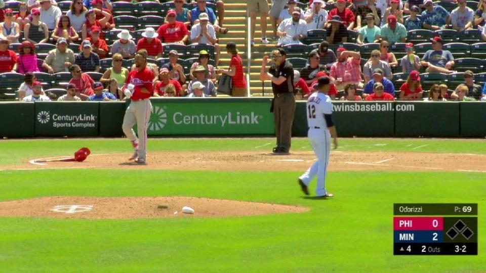 Odorizzi strikes out Crawford