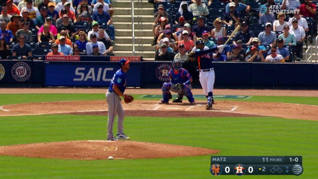 Correa's solo homer
