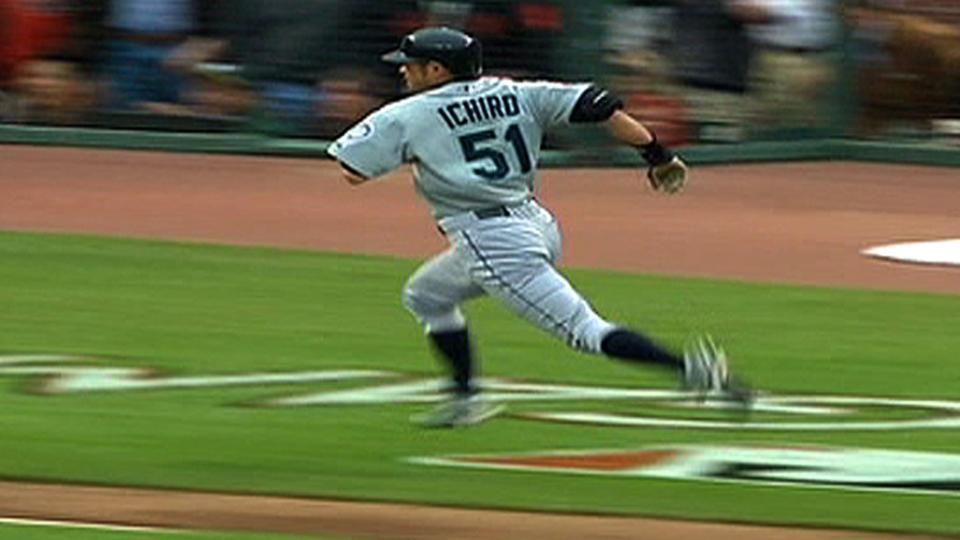 Ichiro's inside-the-park homer